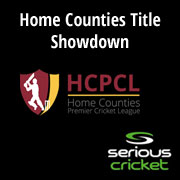Serious Cricket Homes Counties Premier League Showdown