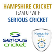 Serious Cricket Announced as New Kit Supplier for Hampshire County Cricket Performance Pathway Squads