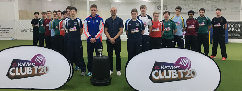 Natwest U19 Club T20 Blasts Off with Jason Roy & Matt Floyd at the Dummer Cricket Centre.