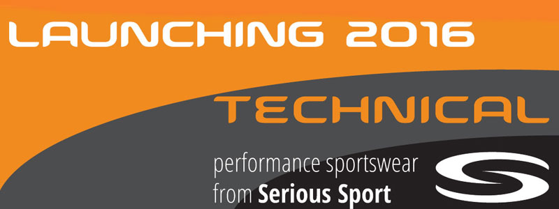Technical clothing range launching 1st March