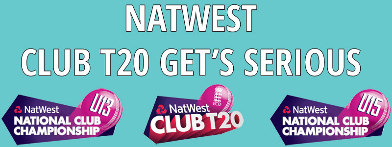 Serious Cricket announce exciting new partnership with the ECB's National Cricket Club T20 Competition
